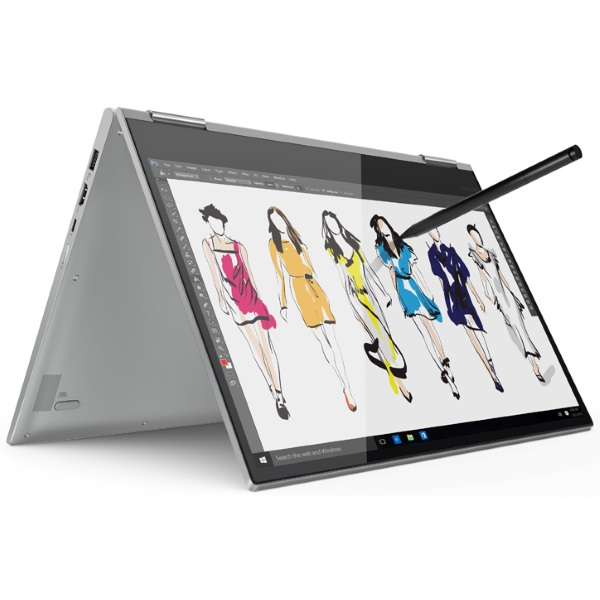 "Ноутбук-трансформер Lenovo Yoga 730-15IWL 15.6"" FHD Touch [81JS000QRU] Core i5-8265U/ 8GB/ 256GB SSD/ GeForce GTX 1050 4GB/ WiFi/ BT/ Win10/ grey изображение 3"