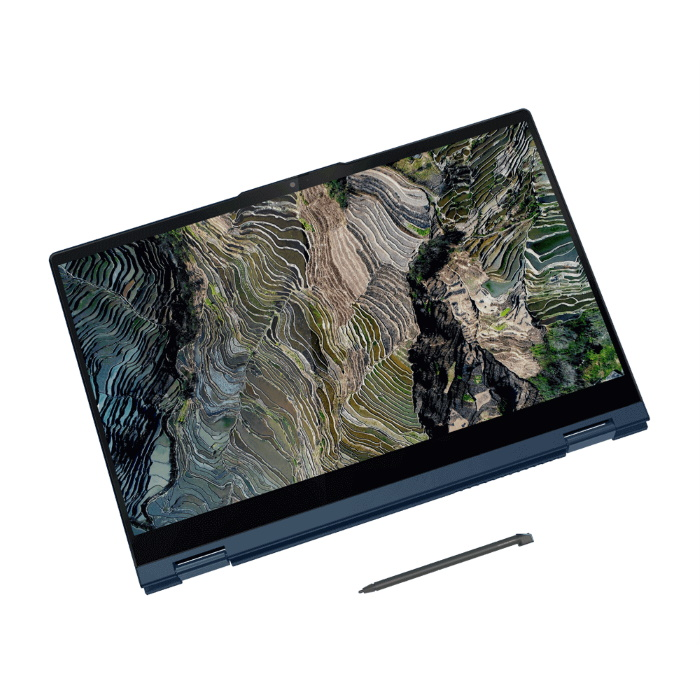 "Ноутбук Lenovo ThinkBook 14s Yoga ITL 14"" FHD [20WE0021RU] Touch, Core i5-1135G7, 16GB, 512GB SSD, WiFi, BT, FPR, Win 10 Pro, синий  изображение 7"