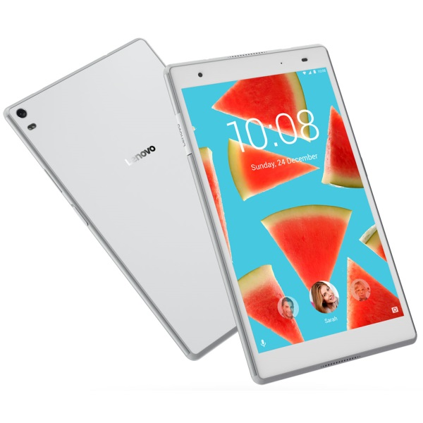 "Планшет Lenovo Tab 4 Plus TB-8704X [ZA2F0118RU] 8"" FHD/ Snapdragon 625/ Android 7.0/ 3GB/ 16GB/ 5Mp/ 8Mp/ WiFi/ BT/ GPS/ 3G/ 4G/ white изображение 1"