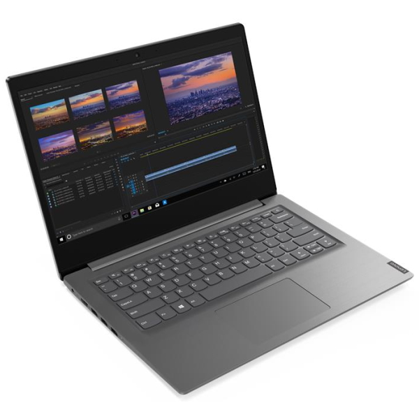 "Ноутбук Lenovo V15-IIL 15.6"" FHD [82C50075RU] Core i5-1035G1/ 8GB/ 256GB SSD/ WiFi/ BT/ Win10/ Grey Steel изображение 1"
