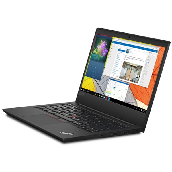 "Ноутбук Lenovo ThinkPad EDGE E490 14"" FHD [20N80019RT] Core i5-8265U/ 8GB/ 1TB/ noODD/ WiFi/ BT/ FPR/ Win10Pro/ black изображение 2"