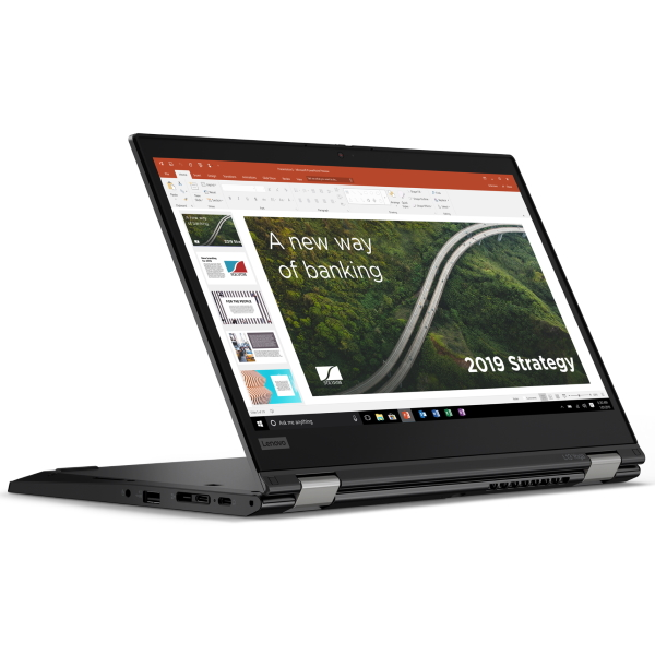 "]Ноутбук Lenovo ThinkPad L13 Yoga G2 13.3"" FHD Touch [20VK0013RT] Core i7-1165G7, 16GB, 512GB SSD, WiFi, BT, FPR, SCR, Win10Pro, черный изображение 3"