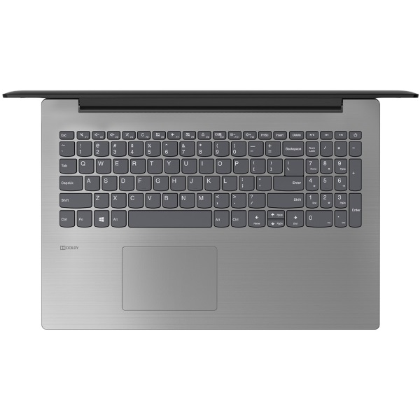 "Ноутбук Lenovo IdeaPad 330-15IKB 15.6"" HD [81DE01E1RU] Core i3-7020U/ 4GB/ 500GB/ Radeon R530 2GB/ WiFi/ BT/ Win10/ black изображение 3"