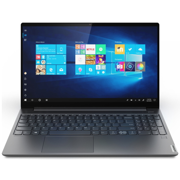 "Ноутбук Lenovo Yoga S740-15IRH 15.6"" FHD [81NX003SRU] Core i7-9750H/ 16GB/ 1TB SSD/ noODD/ GeForce GTX 1650 Max-Q 4GB/ WiFi/ BT/ FPR/ Win10/ Iron Grey изображение 1"