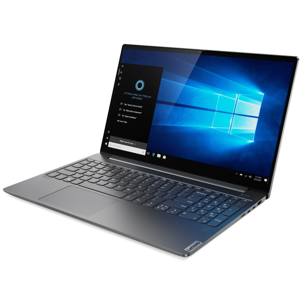 "Ноутбук Lenovo Yoga S740-15IRH 15.6"" FHD [81NX003SRU] Core i7-9750H/ 16GB/ 1TB SSD/ noODD/ GeForce GTX 1650 Max-Q 4GB/ WiFi/ BT/ FPR/ Win10/ Iron Grey изображение 2"