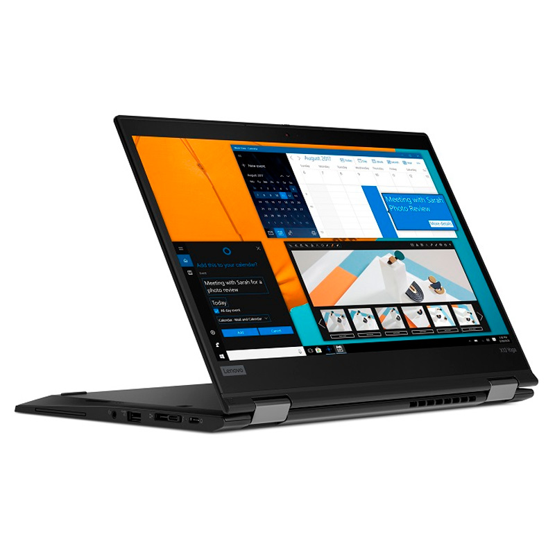Ноутбук Lenovo ThinkPad X13 Yoga G1, 13.3 FHD AR, Core i5-10210U, 8Gb, SSD 256Gb, 4G lte, Thinkpad Pen Pro, wi-fi, bt, win 10Pro, черный [20SX0001RT] изображение 3