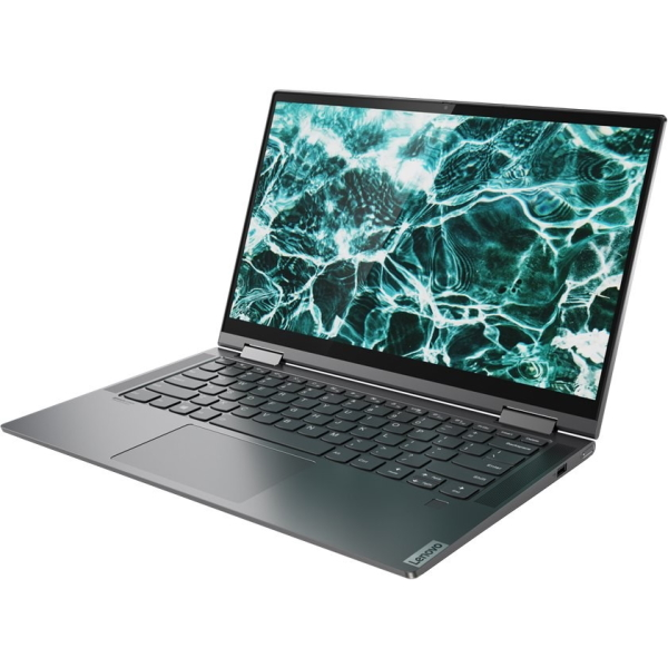 "Ноутбук-трансформер Lenovo Yoga C740-14IML 14"" FHD Touch [81TC00DLRU] Core i7-10510U, 16GB, 1TB SSD, WiFi, BT, FPR, Win10, серый изображение 3"