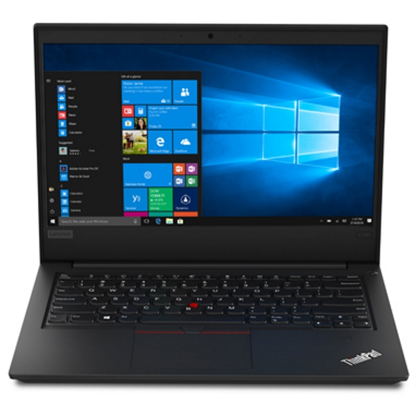 "Ноутбук Lenovo ThinkPad E490 14"" FHD [20N80010RT] Core i7-8565U/ 8GB/ 256GB SSD + 1TB/ noODD/ WiFi/ BT/ FPR/ Win10Pro/ black изображение 1"