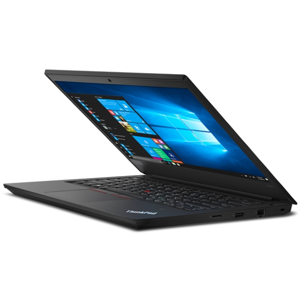 "Ноутбук Lenovo ThinkPad E490 14"" FHD [20N80010RT] Core i7-8565U/ 8GB/ 256GB SSD + 1TB/ noODD/ WiFi/ BT/ FPR/ Win10Pro/ black изображение 2"