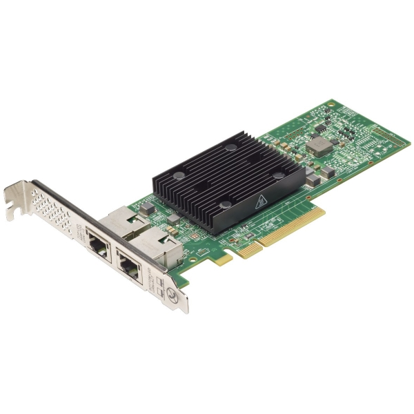 Адаптер сетевой Lenovo ThinkSystem Broadcom NX-E PCIe 10Gb 2x Base-T [7ZT7A00496] изображение 1
