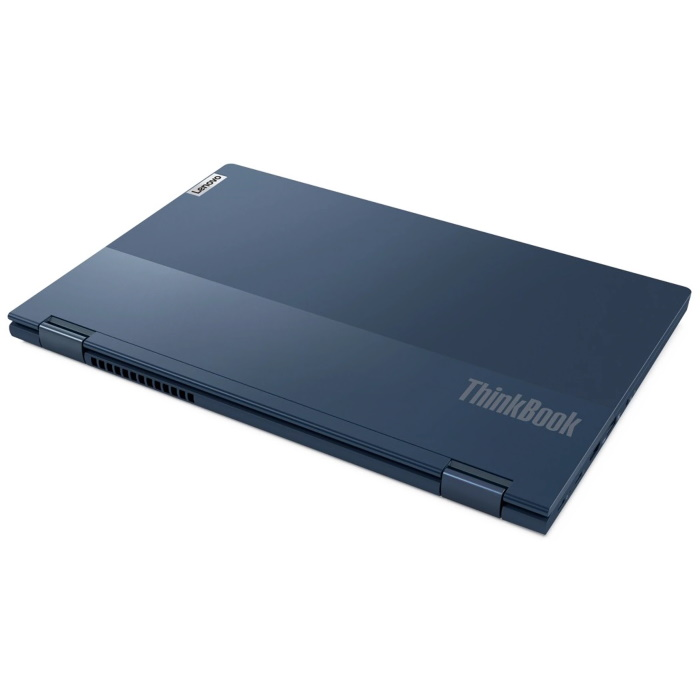 "Ноутбук Lenovo ThinkBook 14s Yoga ITL 14"" FHD [20WE0021RU] Touch, Core i5-1135G7, 16GB, 512GB SSD, WiFi, BT, FPR, Win 10 Pro, синий  изображение 5"