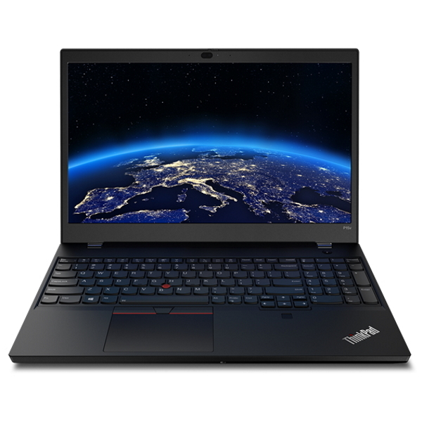 "Ноутбук Lenovo ThinkPad P15v Gen1 15.6"" FHD [20TQ0046RT] Core i7-10750H, 16GB, 512GB SSD, noODD, Quadro P620 4GB, WiFi, BT, FPR, SCR, Win10Pro, черный изображение 1"