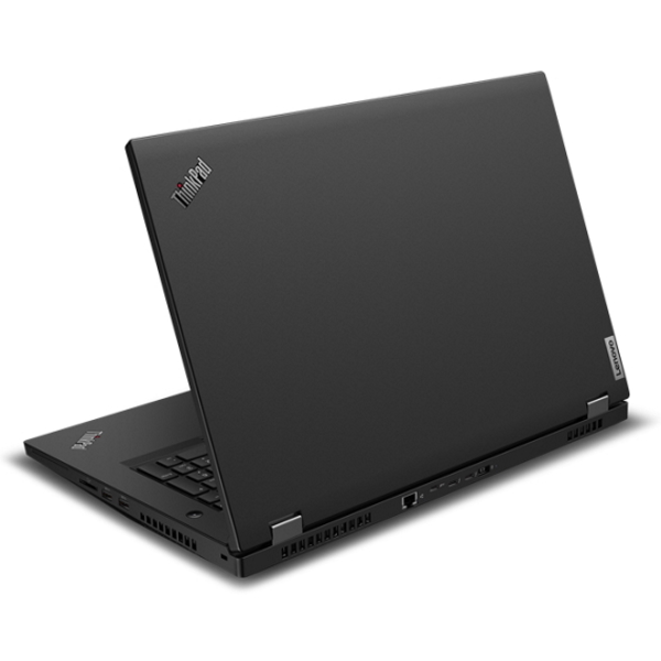 "Ноутбук Lenovo ThinkPad P17 Gen1 17.3"" FHD [20SN002SRT] Core i7-10750H, 16GB, 512GB SSD, noODD, nV Quadro T1000 4GB, WiFi, BT, FPR, SCR, Win10Pro, черный изображение 4"