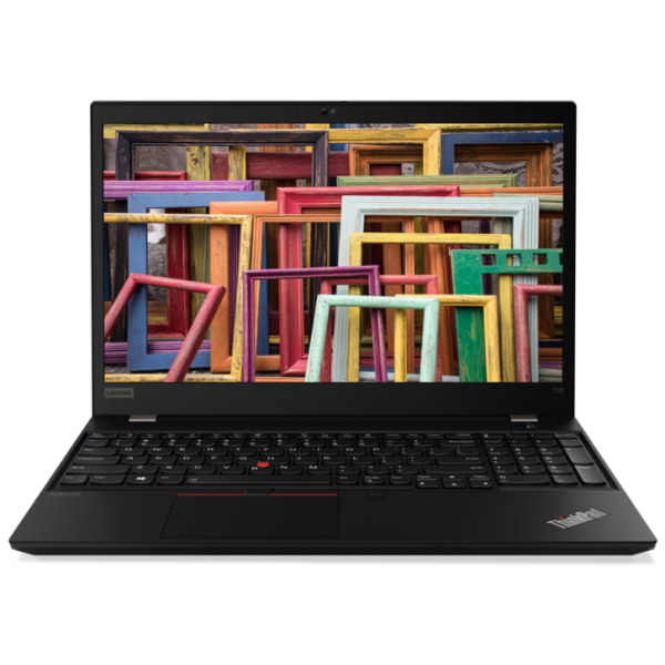"Ноутбук Lenovo ThinkPad T15 Gen1 15.6"" FHD [20S6003PRT] Core i7-10510U, 16GB, 1TB, noODD, GeForce MX330 2GB, WiFi, BT, 4G, FPR, SCR, Win10Pro, черный изображение 1"