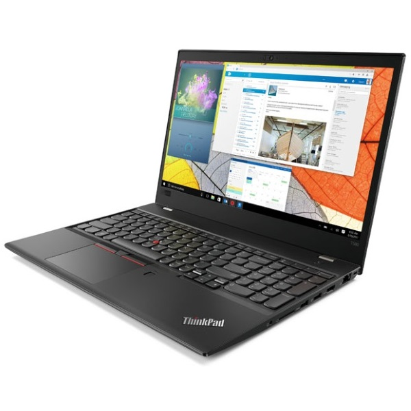 "Ноутбук Lenovo ThinkPad T580 15.6"" FHD [20L90021RT] Core i5-8250U/ 8GB 512GB SSD/ GeForce MX150 2GB/ noODD/ WiFi/ BT/ FPR/ SCR/ Win10Pro изображение 2"