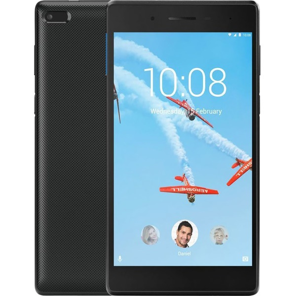 "Планшет Lenovo Tab 4 TB-7304X [ZA330081RU] 7"" 1024x600/ MediaTek MT8735D/ 1GB/ 16GB/ 2Mp/ 2Mp/ WiFi/ BT/ GPS/ 4G/ microSD/ black изображение 1"