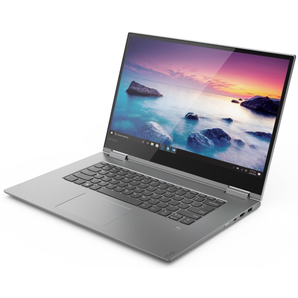 "Ноутбук-трансформер Lenovo Yoga 730-15IWL 15.6"" FHD Touch [81JS000QRU] Core i5-8265U/ 8GB/ 256GB SSD/ GeForce GTX 1050 4GB/ WiFi/ BT/ Win10/ grey изображение 2"