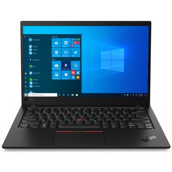 "Ноутбук Lenovo ThinkPad X1 Carbon Gen 8 14"" UHD [20U90008RT] Core I7-10510U, 16GB, 512GB SSD, WiFi, BT, 4G, FPR, Win10Pro, черный изображение 1"