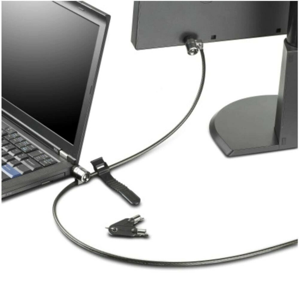 Трос с замком Lenovo Kensington Twin Head Lock [45K1620] изображение 2