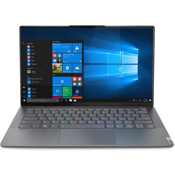"Ноутбук Lenovo Yoga S940-14IIL 14"" FHD Touch [81Q8002YRU] Core i7-1065G7/ 16GB/ 1TB SSD/ WiFi/ BT/ Win10/ Iron Grey изображение 1"