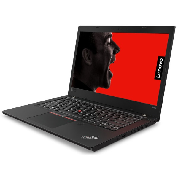"Ноутбук Lenovo ThinkPad L480 14"" HD [20LS0024RT] Core i5-8250U/ 4GB/ 500GB/ noODD/ WiFi/ BT/ FPR/ SCR/ Win10Pro/ black изображение 2"