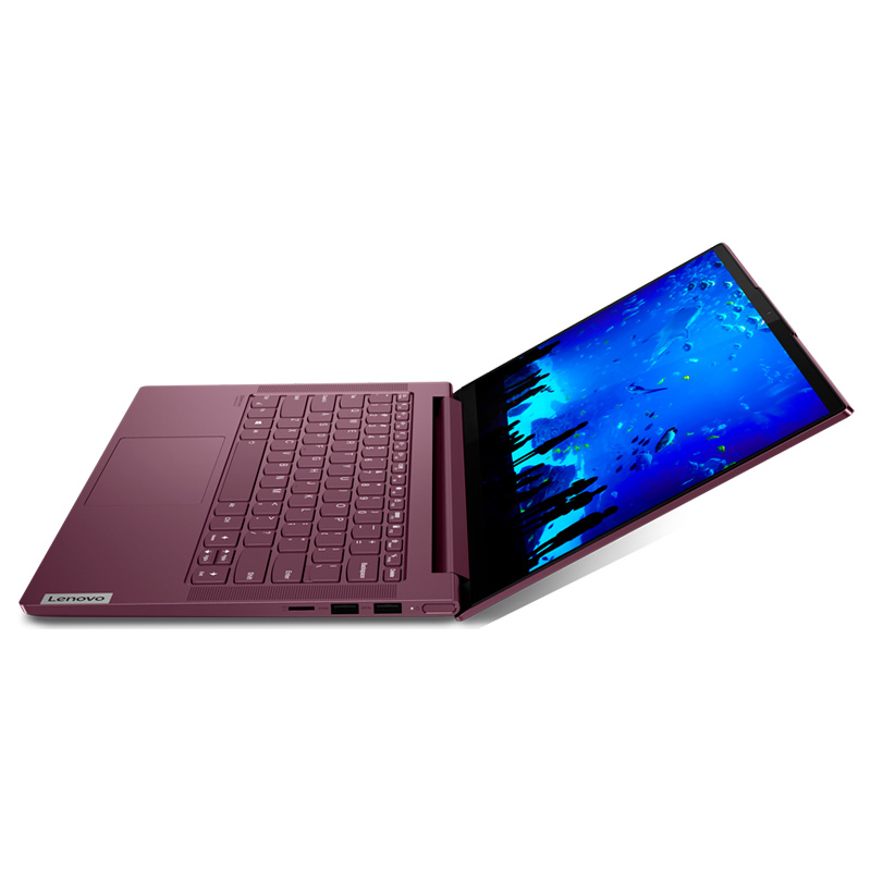 Ноутбук Lenovo Yoga Slim 7 14ARE05 14.0 FHD IPS AG Ryzen 5 4600U, 16GB, SSD 512Gb, AMD Radeon Graphics, Wi-Fi 2X2AX+BT, win 10, орхидея [82A20055RU] изображение 4