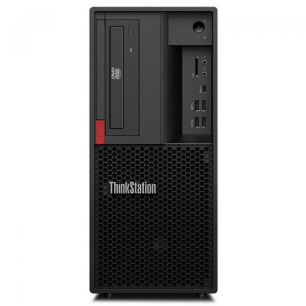Рабочая станция Lenovo ThinkStation P330 TWR/ Core i7-9700/ 2x8GB/ 256GB SSD/ NV Quadro P2200 5GB/ DVD-RW/ Win 10 Pro [30CY0028RU] изображение 1