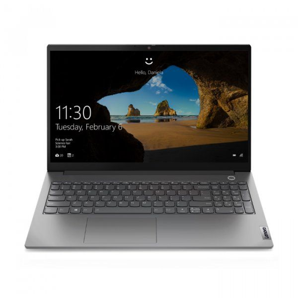"Ноутбук Lenovo ThinkBook 15 G2 ARE 15.6"" FHD [20VG0007RU] AMD Ryzen 5 4500U, 16GB, 512GB SSD, no ODD, WiFi, BT, FPR, HD Cam, Win 10 Pro, Mineral Grey  изображение 1"