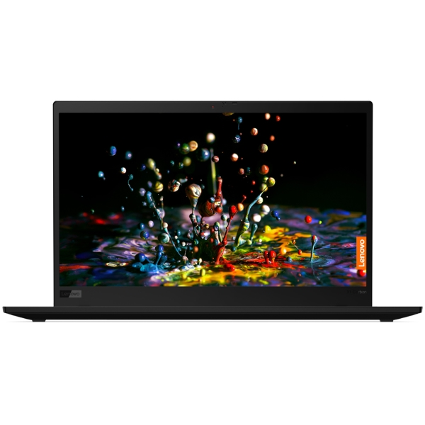 "Ноутбук Lenovo ThinkPad X1 Carbon Gen7 14"" UHD [20QD003JRT] Core i7-8565U/ 16GB/ 512GB SSD/ noODD/ WiFi/ BT/ FPR/ 4G/ Win10Pro/ black изображение 1"
