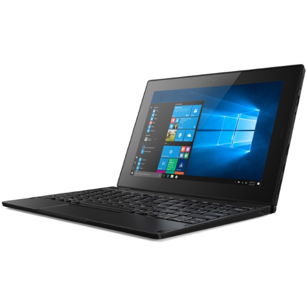 "Планшет Lenovo Tablet 10.1"" WUXGA [20L3000RRT] Celeron N4100/ 4GB/ 64GB SSD/ 2Mp/ 5Mp/ WiFi/ BT/ FPR/ Win10Pro/ black изображение 3"