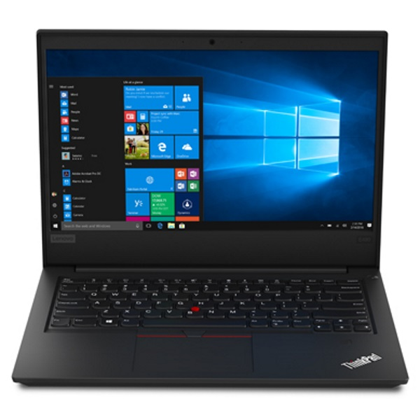 "Ноутбук Lenovo ThinkPad EDGE E490 14"" FHD [20N80028RT] Core I7-8550U/ 16GB/ 512GB SSD/ noODD/ WiFi/ BT/ FPR/ Win10Pro/ black изображение 1"