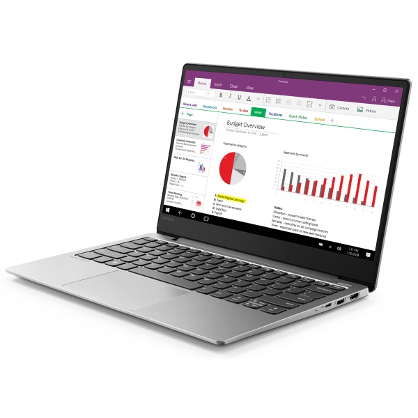 "Ноутбук Lenovo S530-13IWL 13.3"" FHD [81J7007URU] Core i7-8565U/ 16GB/ 512GB SSD/ WiFi/ BT/ Win10/ Platinum Grey изображение 2"